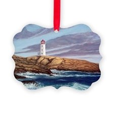 Peggys Cove Lighthouse png Ornament