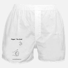 flipping the bird Boxer Shorts