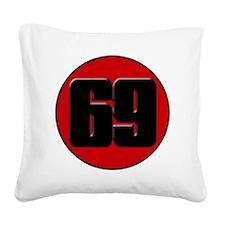 haydentclogo Square Canvas Pillow
