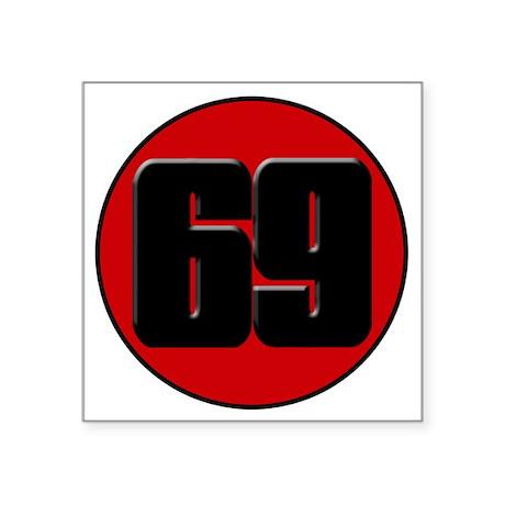 "haydentclogo Square Sticker 3"" x 3"""