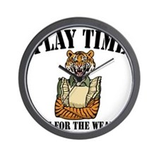 tiger-mom-LTT Wall Clock