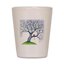 tree new york bigger Shot Glass