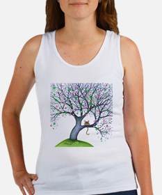 tree new york bigger Women's Tank Top