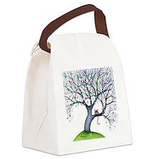 tree new york bigger Canvas Lunch Bag