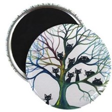 tree stray cats culpeper bigger Magnet