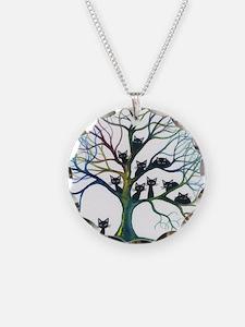 tree stray cats culpeper big Necklace