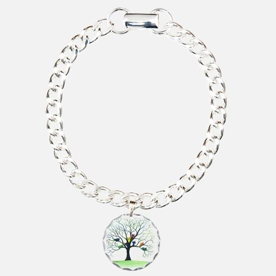 tree stray cats eau clai Bracelet