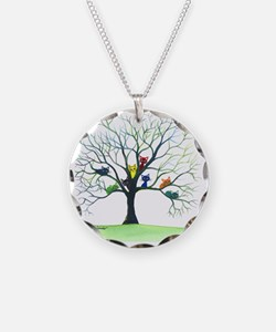 tree stray cats eau claire b Necklace