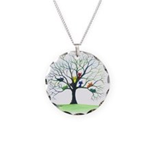 tree stray cats eau claire b Necklace Circle Charm