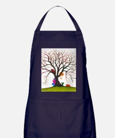 tree inglewood bigger Apron (dark)