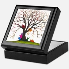 tree inglewood bigger Keepsake Box