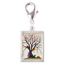 tree inglewood bigger Silver Portrait Charm