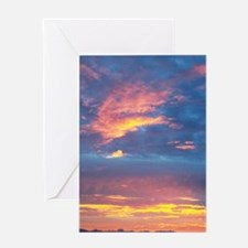 Costa_Rica_Sunset_iTouch Greeting Card