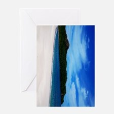 Costa_Rica_Beach_iPad Greeting Card