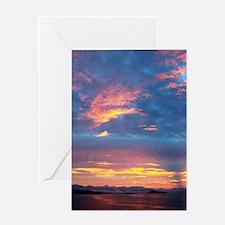 Costa_Rica_Sunset_iPad Greeting Card