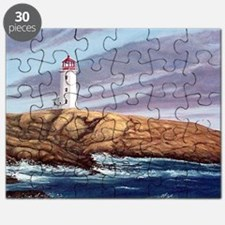 Peggys Cove Lighthouse clock Puzzle