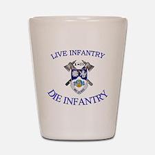 1st Bn 23rd Infantry cap4 Shot Glass