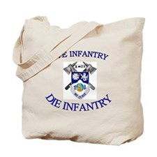 1st Bn 23rd Infantry cap4 Tote Bag