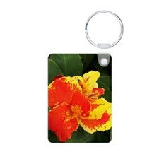 Costa_Rica_flower_iTouch Keychains