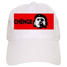 Che Obama 4x2ovalpatch Baseball Cap