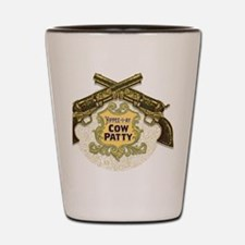 Cow Patty T-Shirt Shot Glass