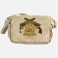 Cow Patty T-Shirt Messenger Bag