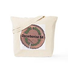 Decarbonise SA Badge Tote Bag