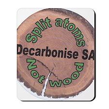 Decarbonise SA Badge Mousepad