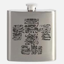teoti-mayan-front-black-chopped Flask
