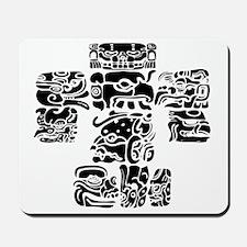 teoti-mayan-front-black-chopped Mousepad