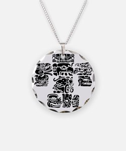 teoti-mayan-front-black-chop Necklace