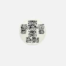 teoti-mayan-front-black-chopped Mini Button