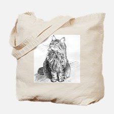 mitty-4in Tote Bag