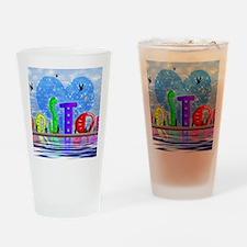 I Heart Boston Drinking Glass