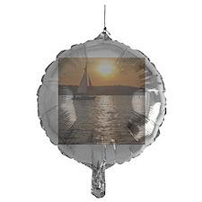 sunsetsailboatframedpic Balloon