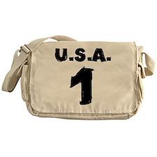 ridin-solo-t-shirt back Messenger Bag