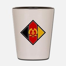East Germany Roundel Shot Glass