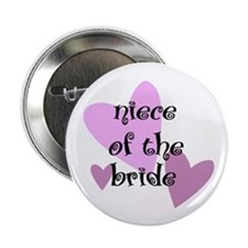 Niece of the Bride Button