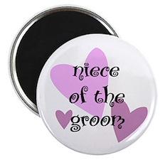 Niece of the Groom Magnet