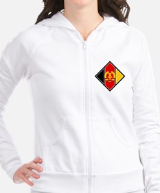 East Germany Roundel Fitted Hoodie