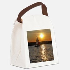 sunsetsailboatmouse Canvas Lunch Bag