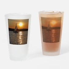 sunsetsailboatmouse Drinking Glass