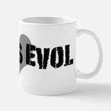Love is evoL Mug