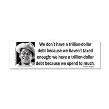 REAGAN-Debt-2 Car Magnet 10 x 3