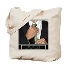 16x20_suitup_h Tote Bag