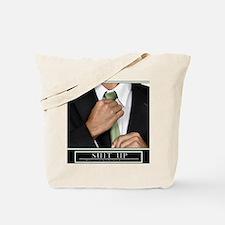16x20_suitup_h Tote Bag
