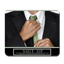 16x20_suitup_h Mousepad
