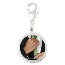 16x20_suitup_h Silver Round Charm