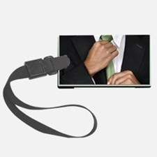 16x20_suitup_h Luggage Tag