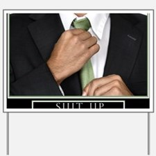 16x20_suitup_h Yard Sign